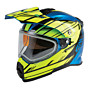 gmax touring adventure at-21  helmet dual shield - snowmobile