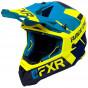 fxr racing div race helium adult helmets full face - snowmobile