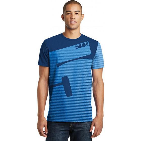 509medium blue tech high up  shirts t-shirts - casual