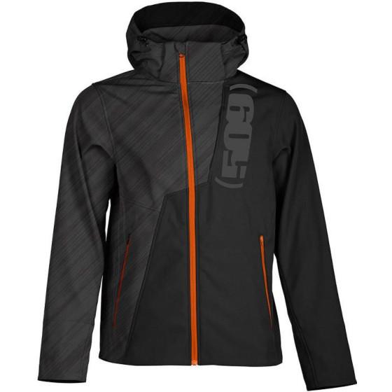 509medium orange ops black softshell tactical   jackets - casual