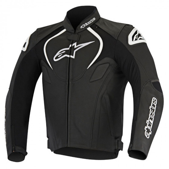 alpinestars perforated airflow jaws jacket leather - motorcycle