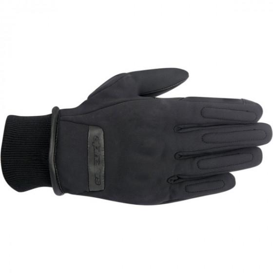 alpinestars windstopper c-1 gloves textile - motorcycle