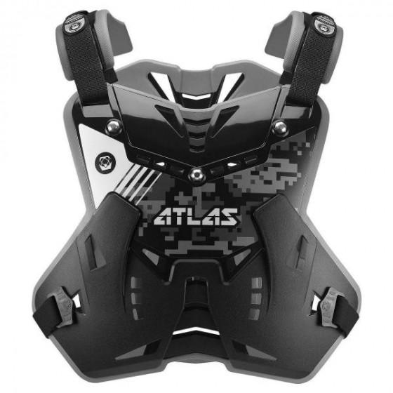 atlas brace technologies defender adult roost deflectors - dirt bike