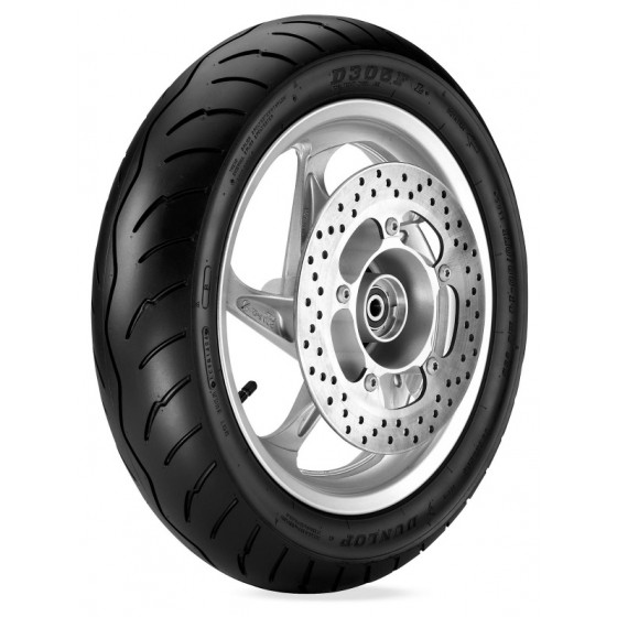 dunlop front d305/f scooter tires - motorcycle