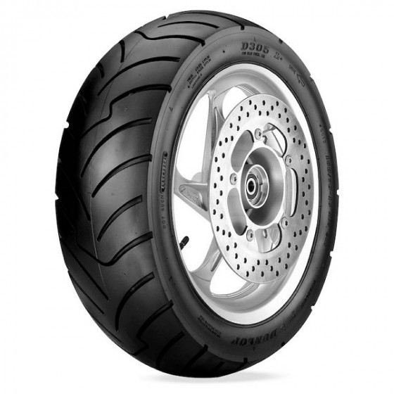 dunlop rear d305/f scooter tires - motorcycle