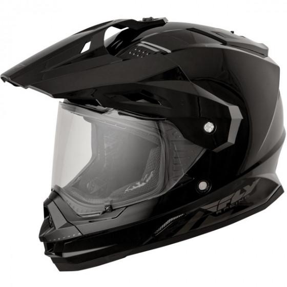 fly racing trekker adult helmet dual sport - motorcycle