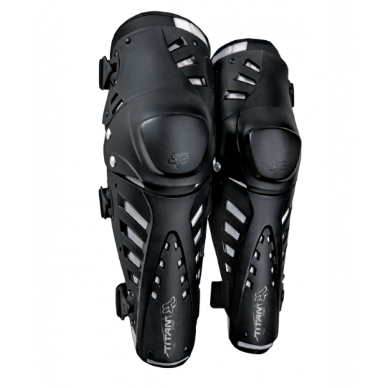 fox racing  knee/shin pro titan adult knee & shin guards - dirt bike