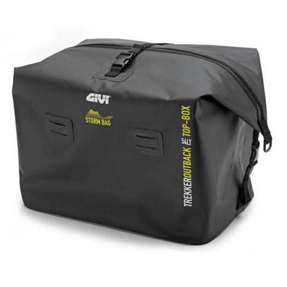 givi compatible plate monokey outback trekker luggage top cases - motorcycle