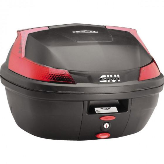 givi lt 37 monolock/tech blade b37 luggage top cases - motorcycle