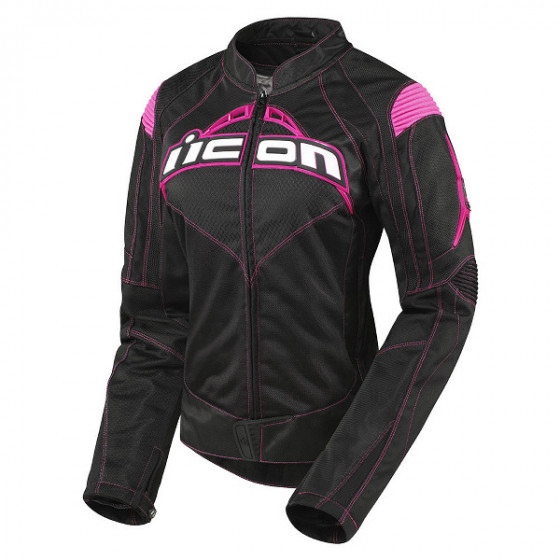 icon contra jacket textile - motorcycle