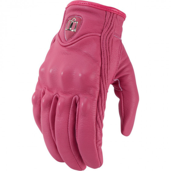 icon  pursuit gloves leather - motorcycle