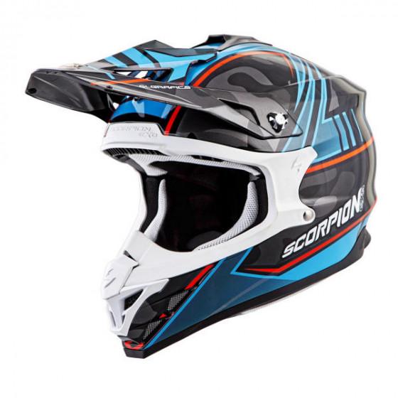 scorpion miramar vx-35 adult helmet - dirt bike