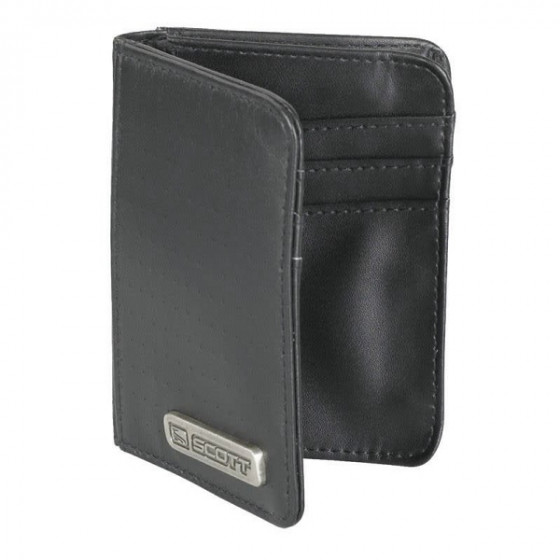 scott holder card with leather - casual