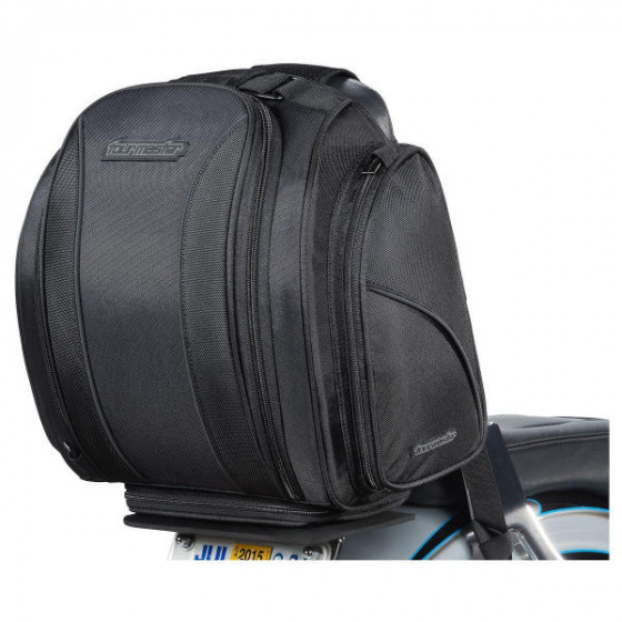 tourmaster commuter collection 3 cruiser nylon gear tail & rack bags - motorcycle