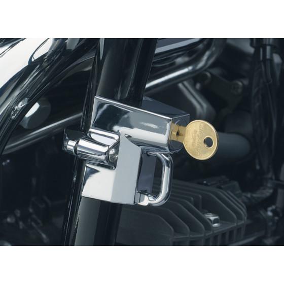 kuryakyn lock helmet universal accessories & parts security & locks - motorcycle