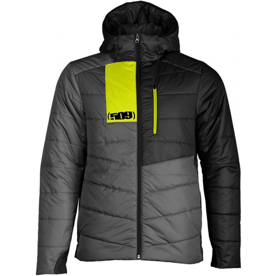 509  hooded insulated loft syn - casual