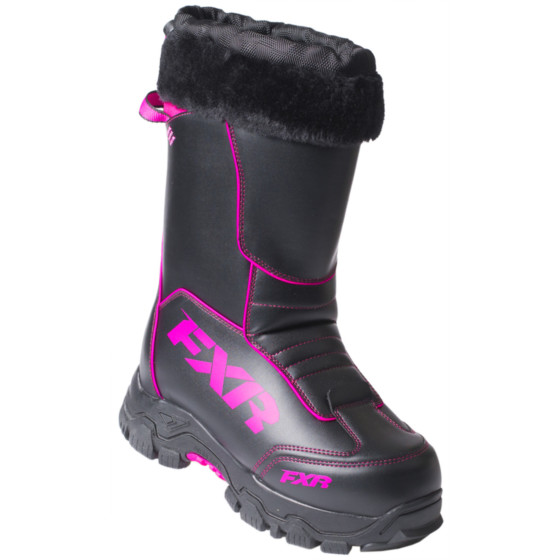 fxr racing excursion adult boots lace boots - snowmobile