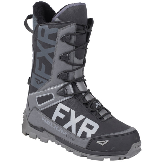 fxr racing speed lite helium adult boots lace boots - snowmobile