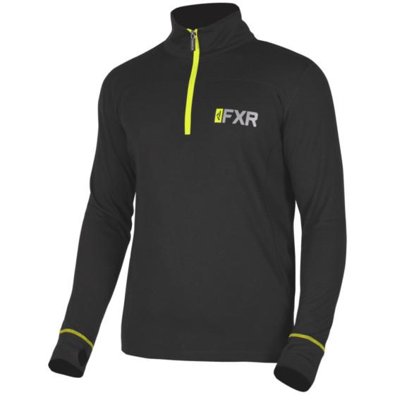 fxr racing zip 1/4 longsleeve merino 20% vapour  baselayers top - snowmobile