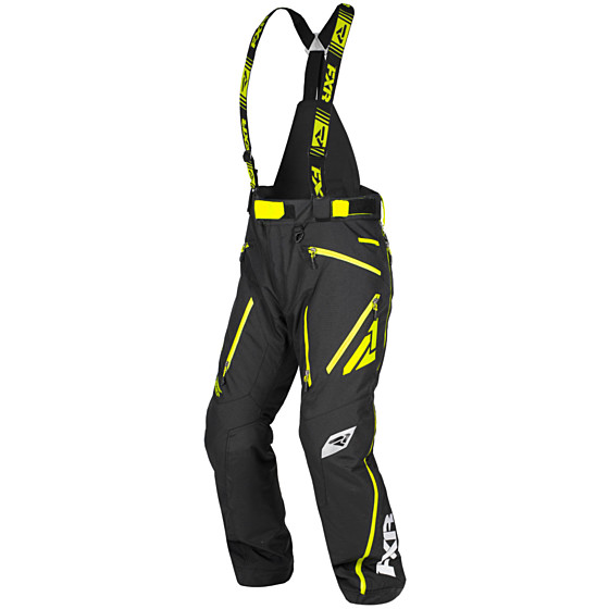 fxr racing   x mission  pants insulated - snowmobile