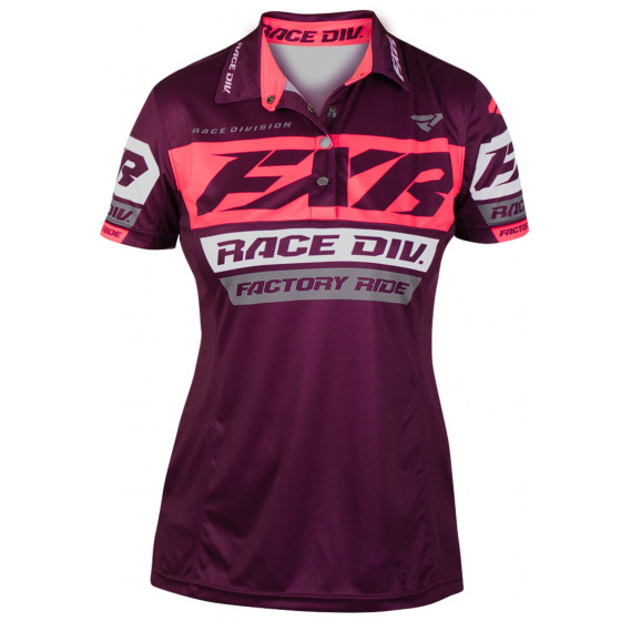 fxr racing polo division race   - casual