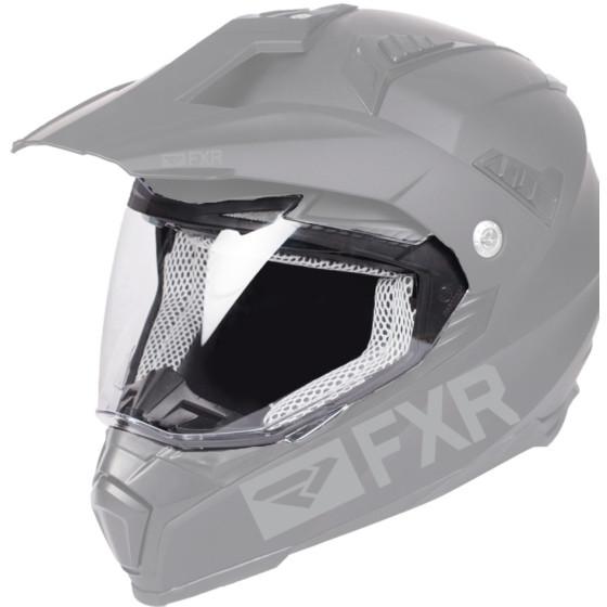fxr racing helmet accessories octane x  electric shield electric shield - snowmobile