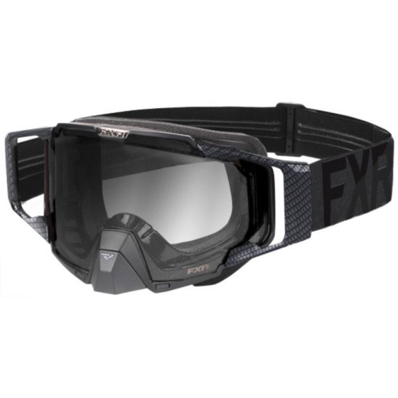 fxr racing transition pilot adult goggles - snowmobile