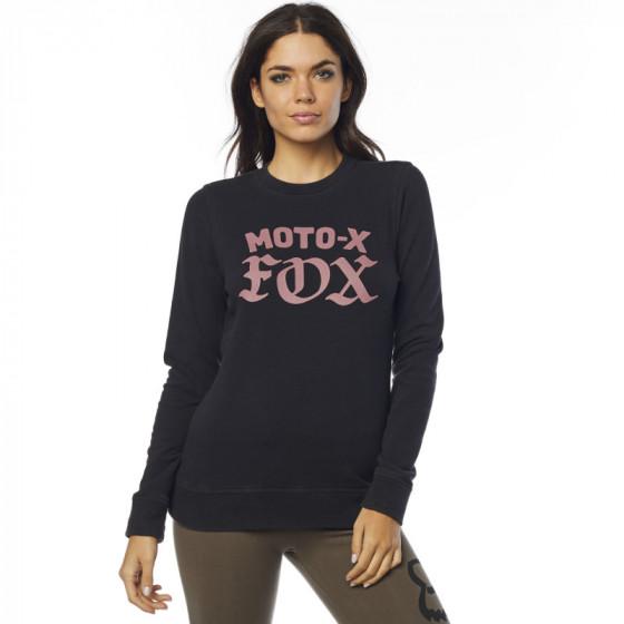 fox racing fleece crew x moto  long sleeve - casual