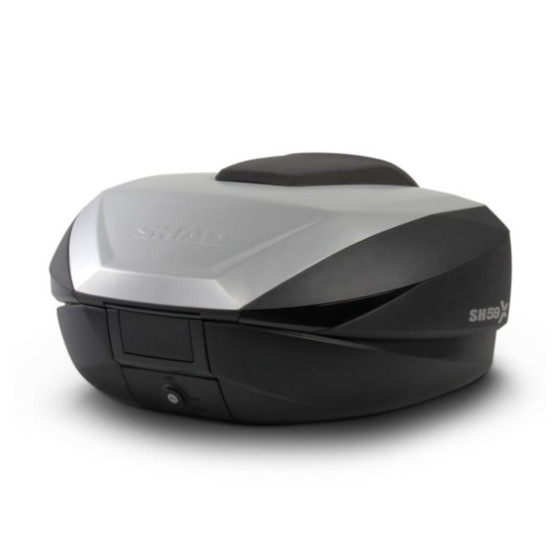 shad expandable luggage top cases - motorcycle