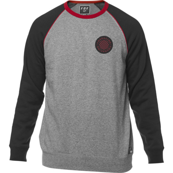 fox racing fleece crew chu  long sleeve - casual