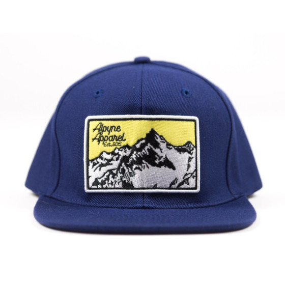 alpyne apparel hats adult borne snapback - casual