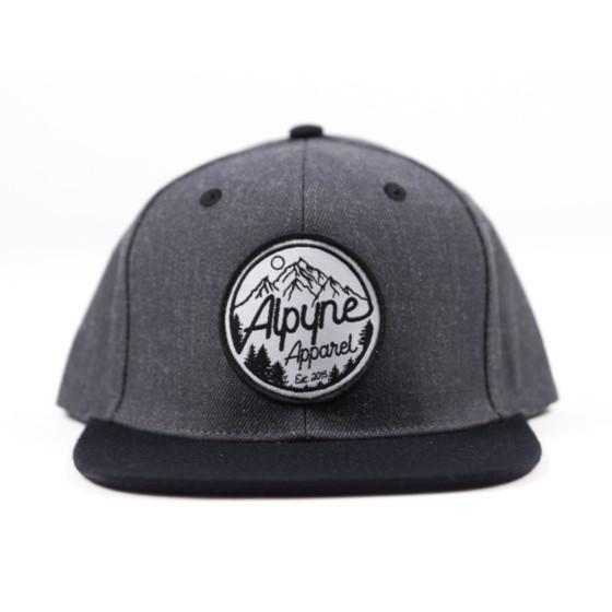 alpyne apparel hats adult quartz snapback - casual
