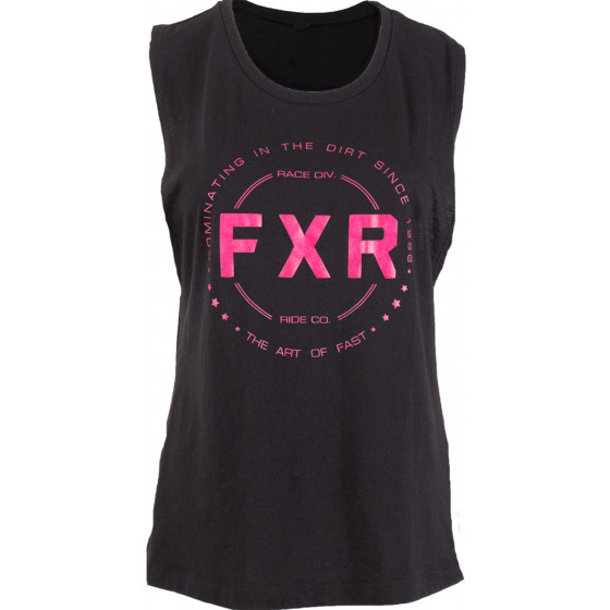 fxr racing muscle freedom tank top - casual