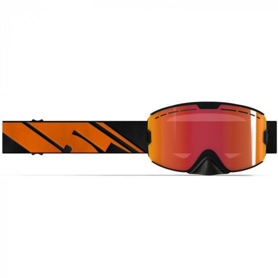 509 fire black kingpin adult goggles - snowmobile