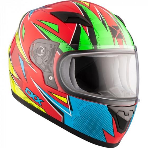 ckx atomic 519y rr  helmet dual shield - snowmobile