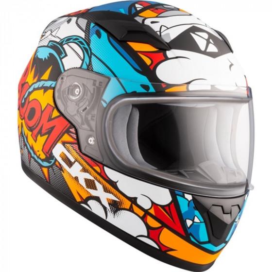 ckx vortix 519y rr  helmet dual shield - snowmobile