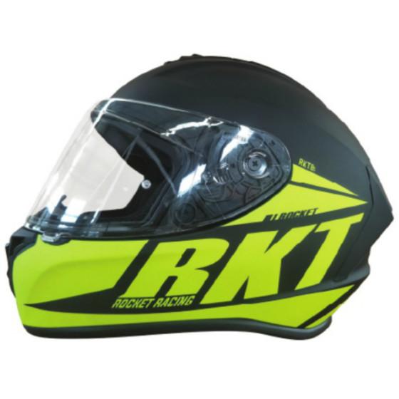 joe rocket (dual) 8 rkt adult helmet dual shield - snowmobile