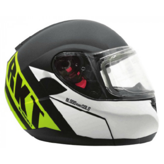 joe rocket (electric) north true 20 rkt adult helmet electric shield - snowmobile