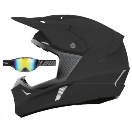 joe rocket solid ion 22 rkt adult helmet full face - snowmobile