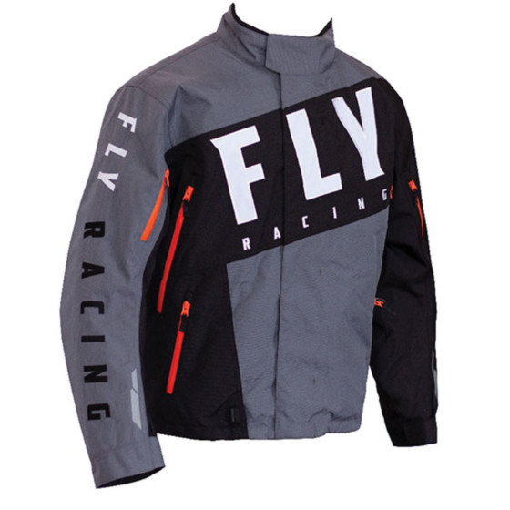 fly racing pro snx  jacket insulated - snowmobile