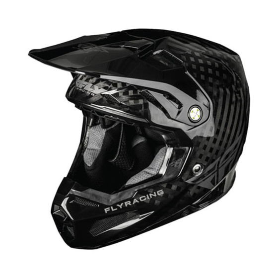 fly racing carbon formula adult helmet helmets - dirt bike