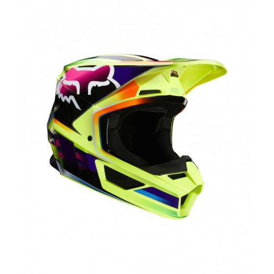 fox racing gama v1 adult  - dirt bike