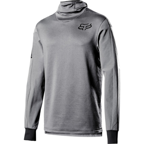 fox racing hooded thermo defend   - dirt bike