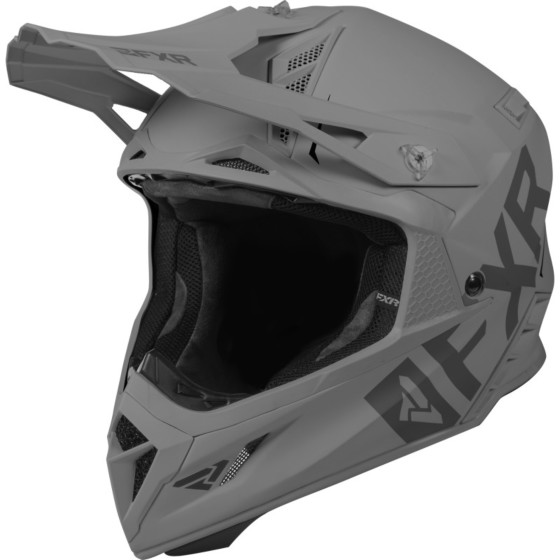 fxr racing prime helium adult helmets full face - snowmobile