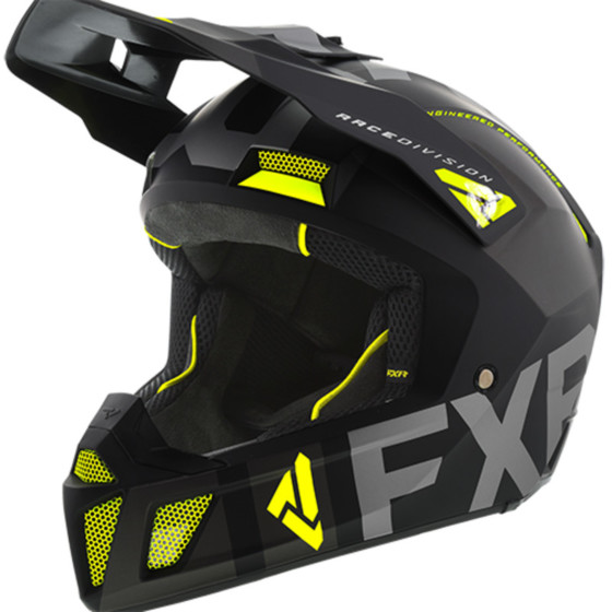 fxr racing evo clutch adult helmets full face - snowmobile