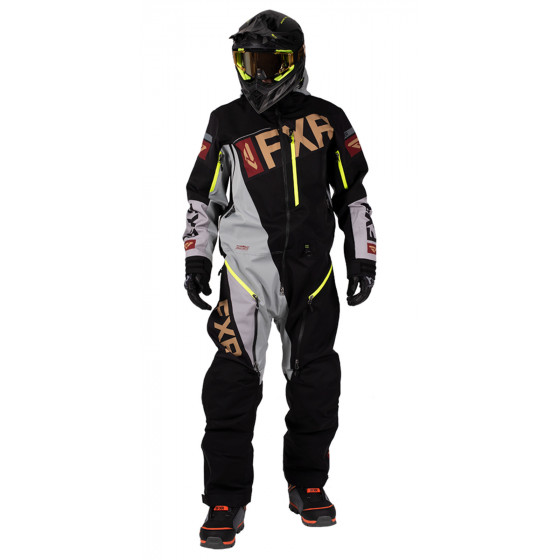 fxr racing (non-insulated) lite instinct ranger  monosuit non-insulated - snowmobile