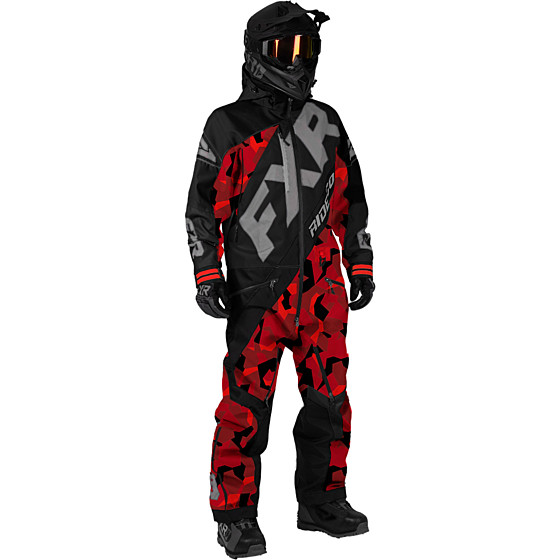 fxr racing f.a.s.t cx  monosuit insulated - snowmobile