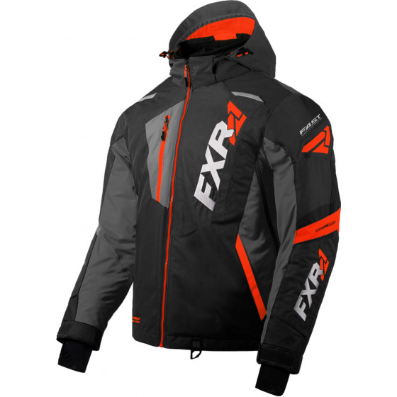 fxr racing fx mission  jackets insulated - snowmobile