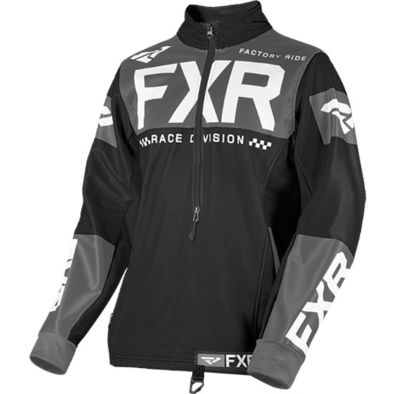 fxr racing pullover rr cross cold  baselayers top - snowmobile