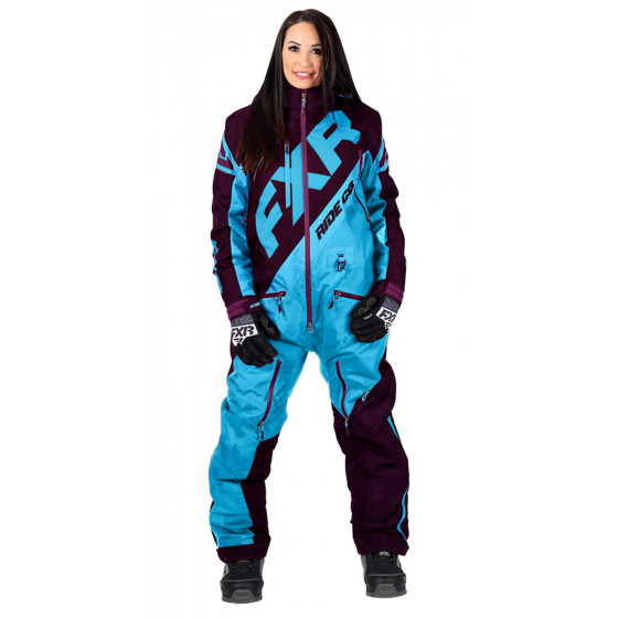 fxr racing f.a.s.t. cx  monosuit insulated - snowmobile